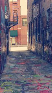 Graffiti Alley Baltimore, MD.