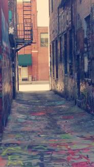 Graffiti Alley Baltimore, MD.
